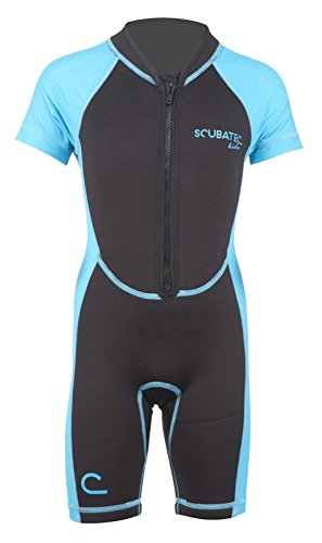 Scubatec Neopren-Lycra Kindershorty, blau, 152-158 (L)