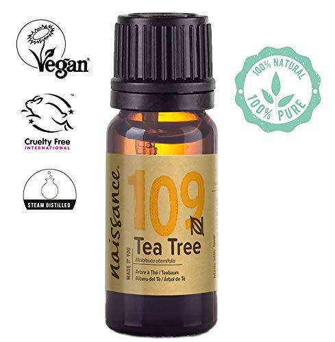 Naissance Teebaumöl (Nr. 109) 10ml 100% naturreines ätherisches Öl