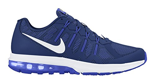 Nike Air Max Dynasty Unisexe-Chaussure de course Blanc Azul / Blanco (Deep Royal Blue / White-Rcr Blue)
