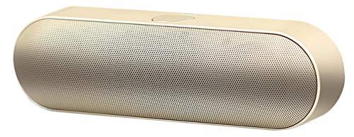 Bluetooth-Lautsprecher Drahtloser Tragbarer Kreativer Kapsel-TF-Karten-Subwoofer Im Freien,Gold -