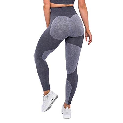 Damen Yoga Leggings Pants Sporthose Skinny Leggins Fitness Stretch Hose Jogging Sport Gym Laufhose Lang Hosen Trainingshose Sexy...