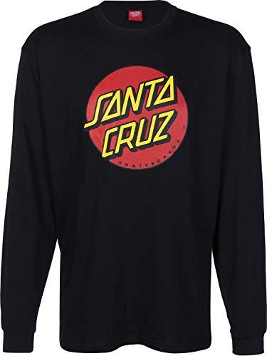 Santa Cruz Herren Langarmshirt X Blue Tomato Dot Long T-Shirt LS - Dot Herren T-shirt