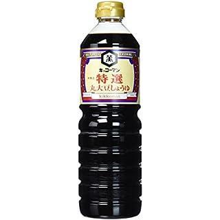KIKKOMAN Tokusen Marudaizu Shoyu, 1er Pack (1 x 1000 ml)