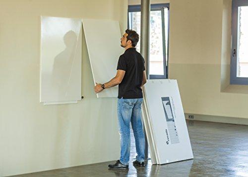Vinilo Pizarra Blanca Magnética 75x 115cm Panel