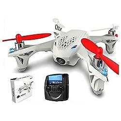 Hubsan X4 H107D Drone FPV 5.8 GHz Drone con cámara de 4 Canales Quadcopter Modelos controlados a Distancia