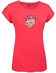 T-shirt Salewa Mujer Greetings Co Tee S/S W