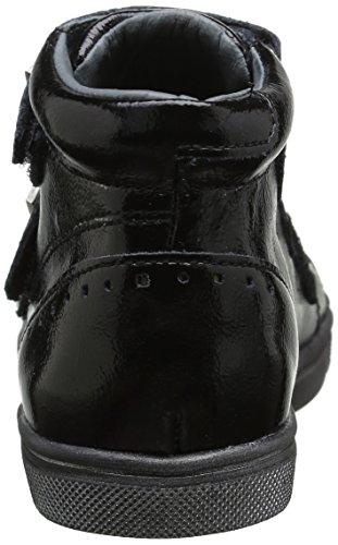 babybotte Mädchen Kaross Schnürhalbschuhe Schwarz - Noir (338 Noir)