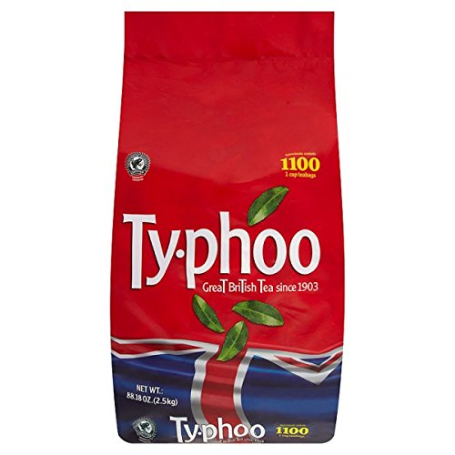 ( 2 Pack ) Typhoo 1100 1 Cup Teabags 2.5kg