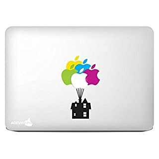 Adesiviamo UP Carl House decal sticker for apple mac macbook all models 11