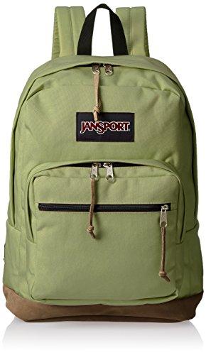 "JanSport derecho Pack–Mochila para ordenador portátil de 15"" - JS00TYP731B, Verde oliva"