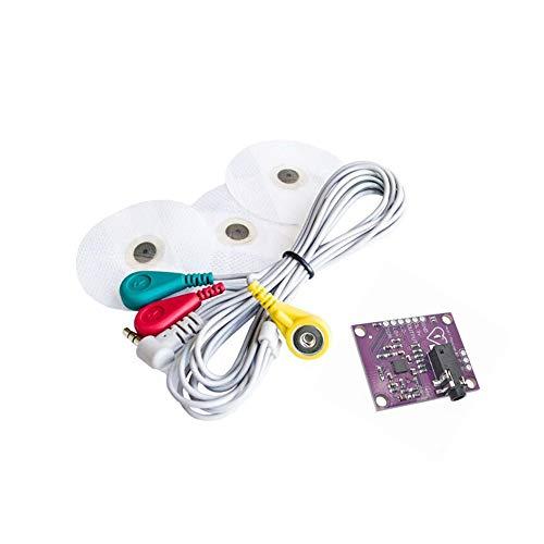 Puls-messungen (ECG Modul AD8232 EKG-Messung Puls Herz EKG Überwachung Sensormodul-Kit)