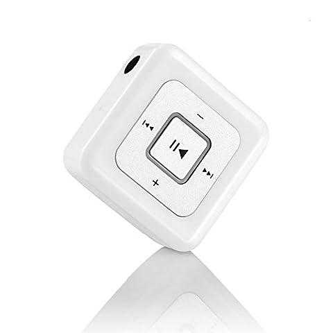 Andven Mini Wireless Bluetooth Empfänger, Portable Audio Receiver Kopfhörer Upgrade