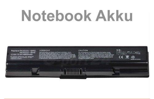 Notebook Akku für Toshiba PA3533U-1BRS 1BAS kompatible mit Satellite A200 L300 L300D L450 L550 A210 - 1bas Notebook