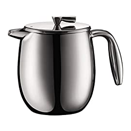 Bodum COLUMBIA Coffee Maker (Double-Walled, Stainless Steel)