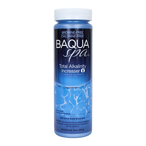 Baqua Spa 88822 Total Alkalinity Increaser Spa pH Balancer, transparent -