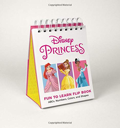 Disney Princess Fun to Learn Flip Book: ABCs, Numbers, Colors, and Shapes -