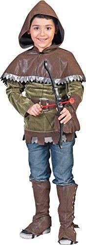 Robin Hood Elben Kostüm für Kinder Gr. 152 - Tolles Kostüm für Theater, Mittelalterfeste, Karneval oder ()