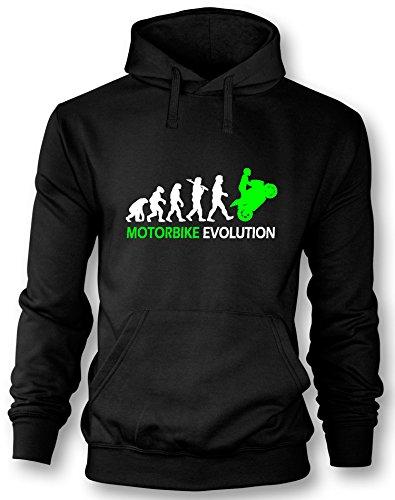 Motorbike Evolution - Herren Hoodie in Größe XL