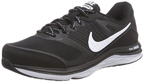Nike Dual Fusion X, Chaussures de Course Femme Noir (Noir / Blanc-Cool Grey)