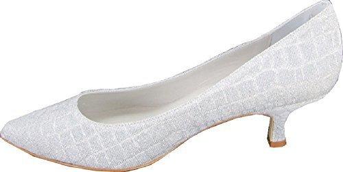Patrizia dini sandales à talons pour femme Argent - Argent