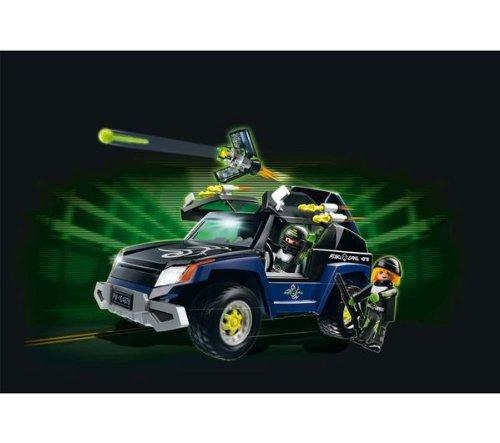 Playmobil 4878–4x 4del Robo-Gang -4878les Top Agents