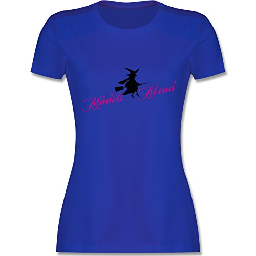 Typisch Frauen - Mädelsabend - tailliertes Premium T-Shirt mit Rundhalsausschnitt für Damen Royalblau