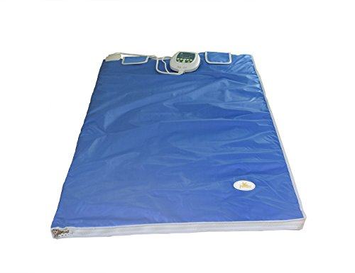Weight Loss Heizung Body Former Health Care Decke Digital Far Infrarot Sauna Blanket mit 2 Zone Controller Elitzia ETD701