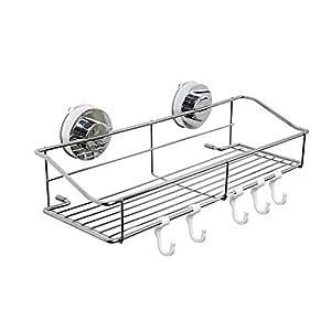 proveedor ferreterías: Cesta de almacenamiento con ganchos, resistente al óxido, de acero inoxidable, c...