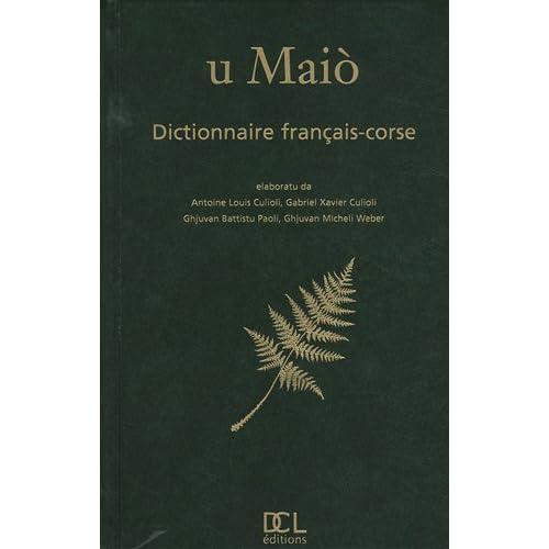 U Maiò : Dictionnaire français-corse
