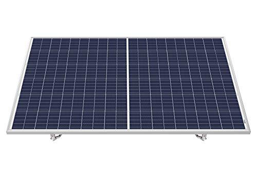 indielux e-asy budget 280 Watt Flachdach oder Boden Steckdosen-Solargerät