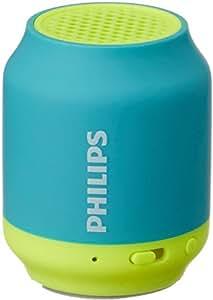 Philips BT50A/00 Portable Wireless Bluetooth Speaker, Blue