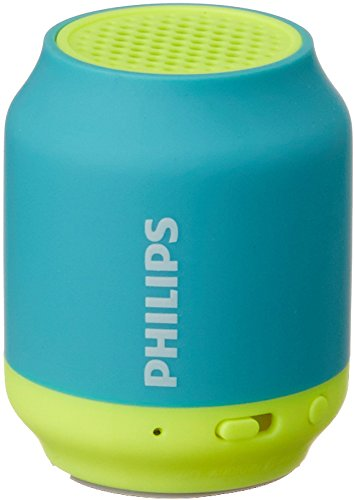 Philips BT50A/00 Portable Wireless Bluetooth Speaker, Blue