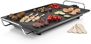 Princess Table Chef Hot-Zone - Placa de parilla, aluminio indeformable, 60 x 60 cm, 2500 W