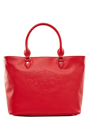 LIU JO CORALLO SHOPPING BAG - N16226E0140 Rosso