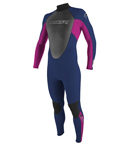 ONEILL WETSUITS O'Neill Wetsuits Mädchen Neoprenanzug Youth Reactor 3/2 Full (Full Reactor Wetsuit Oneill)