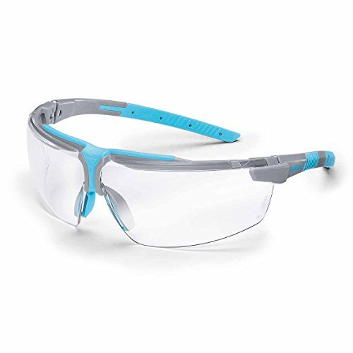 Uvex Schutzbrille Arbeitsbrille i-3 Polycarbonat grau/sky blue AR