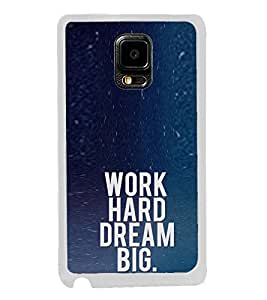 ifasho Life quote Back Case Cover for Samsung Galaxy Note 4 Edge