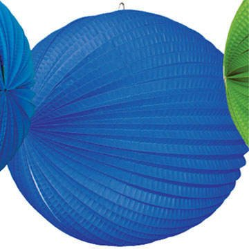 tib 13007 Laterne, rund, Farbe: Blau, One Size