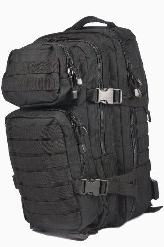 camouflage-militaire-armace-sac-a-dos-us-assault-pack-20l-molle-noir