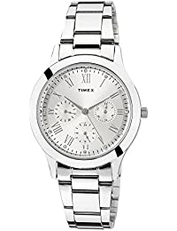 Timex Analog Silver Dial Women's Watch-TW000Q806