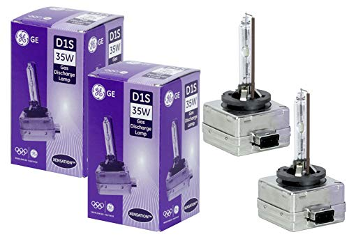 Preisvergleich Produktbild General Electric 53620 Xensation D1S 4200K (2 Stück) gasentladungslampe xenon brenner autolampe scheinwerfer birne bulb