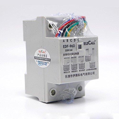 ANVNR Df96d AC220 V 5 A Din Rail Mount Float Switch Auto Water Level Controller mit 3 Sonden