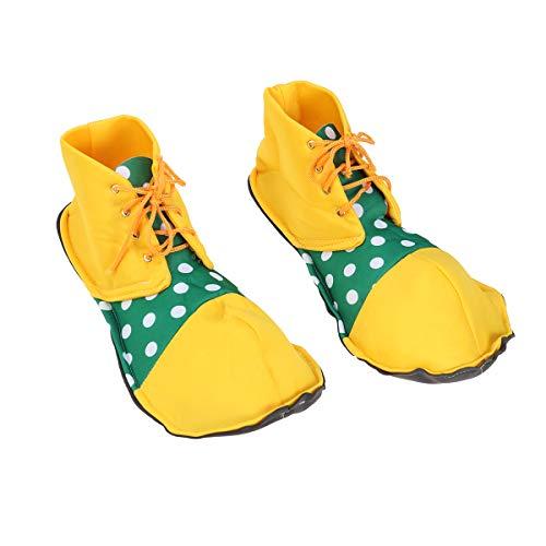 he Party Kostüm Stiefel Clown Schuhüberzieher für Frauen Männer ()