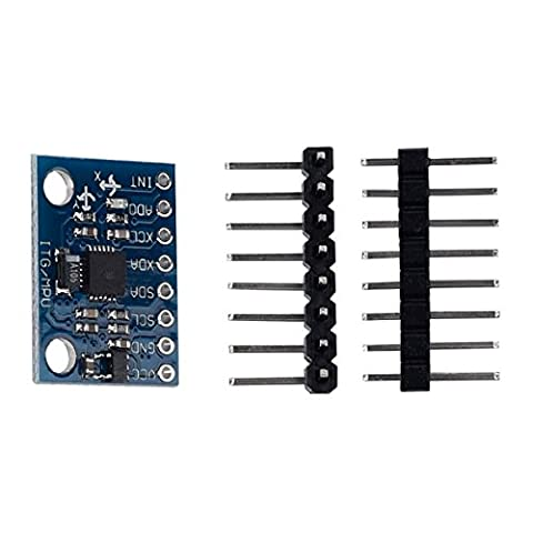 kwmobile Beschleunigungssensor Sensor mit digitalem Ausgang, 3-Achsen-Gyroskop Sensor für Arduino, Genuino und Raspberry (Geschwindigkeit Winkel)