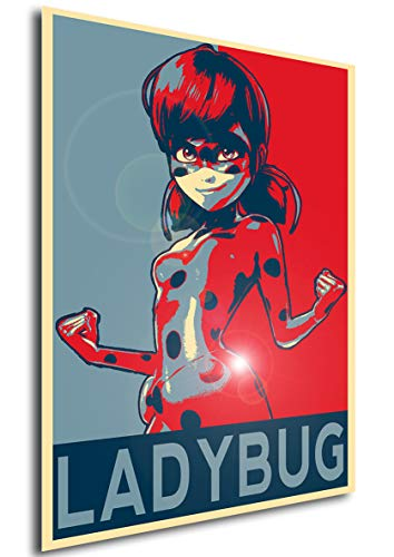 Instabuy Poster Propaganda Miraculous Ladybug A4 30x21