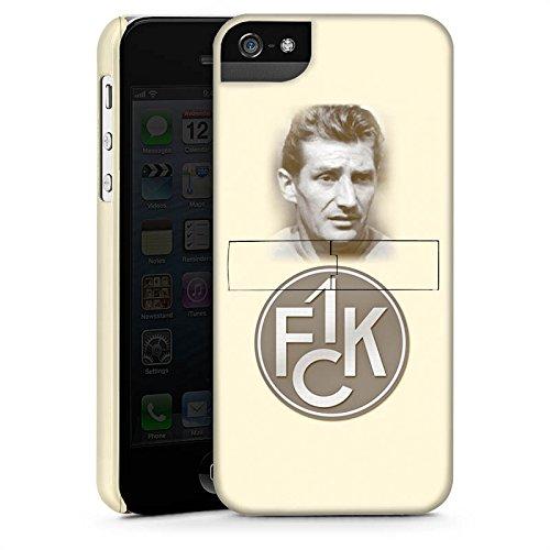 Apple iPhone X Silikon Hülle Case Schutzhülle 1. FC Kaiserslautern Fanartikel Fritz Walter Fußball Premium Case StandUp