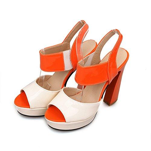Balamasa da donna, a punta aperta, in colori assortiti, da donna, con tacco alto Orange