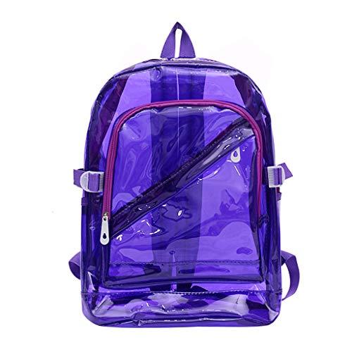 LILIHOT Unisex Umhängetaschen Outdoor Candy Farbe wasserdichte Rucksäcke Schulpakete Wasserdicht Rucksack Mode GroßEr Kapazität Tasche Freizeit Messenger Bag - Candy Satchel