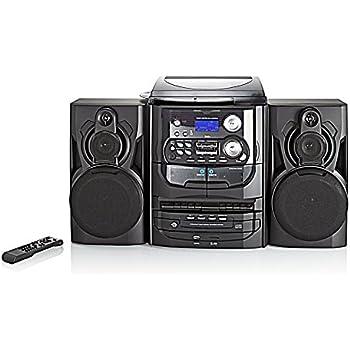 Kompaktanlage mit DAB+ Kassette Schallplatte 3fach CD