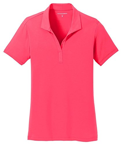 Port Authority -  Polo  - Donna Hot Coral